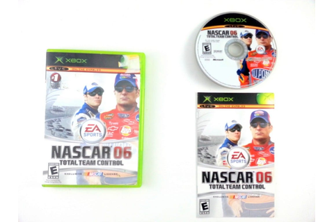 NASCAR 06 Total Team Control game for Xbox (Complete ...