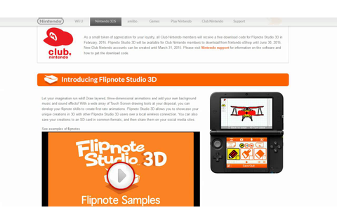 Flipnote Studio 3d to lack online and gaming media ignores ...