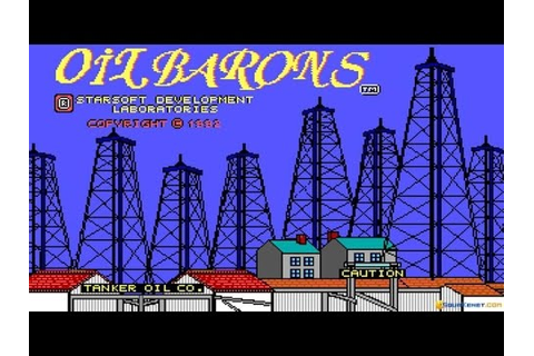 Oil Barons gameplay (PC Game, 1992) - YouTube