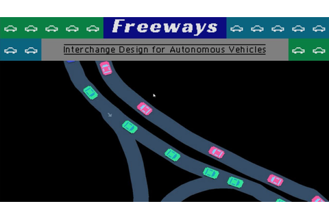Freeways - (Traffic Engineer Game) - YouTube