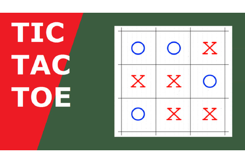 How to play Tic Tac Toe - YouTube