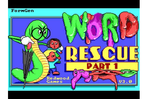 Word Rescue - Levels 1 to 13 - YouTube