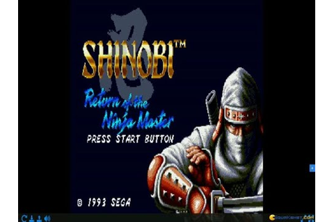 Shinobi III: Return of the Ninja Master gameplay (PC Game ...