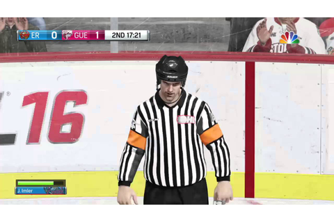 NHL® 16 Game Misconduct?! I got ejected from the game ...