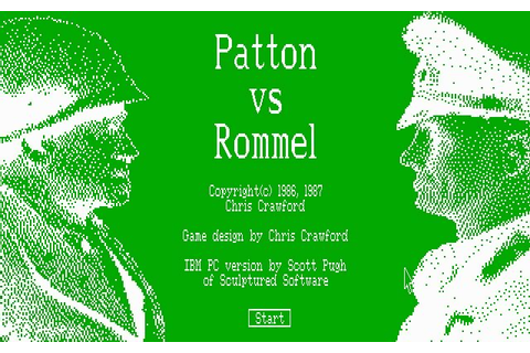 Download Patton vs. Rommel strategy for DOS (1987 ...