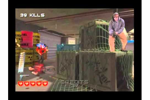 10-Minute Gameplay - Target: Terror (Wii) - YouTube