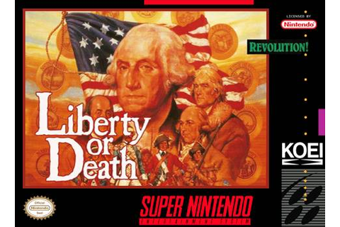 Liberty or Death SNES Super Nintendo