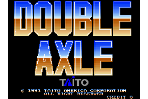 Double Axle (1991) by Taito Arcade game