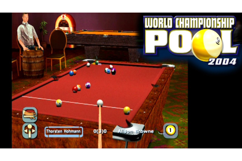 World Championship Pool 2004 ... (PS2) - YouTube
