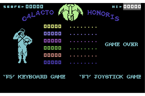 Cosmic Cruiser: Galacto Honoris - Commodore 64 Game / C64 ...
