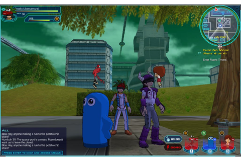 FusionFall - Virtual Worlds for Teens