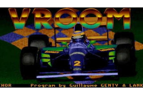 Vroom gameplay (PC Game, 1991) - YouTube