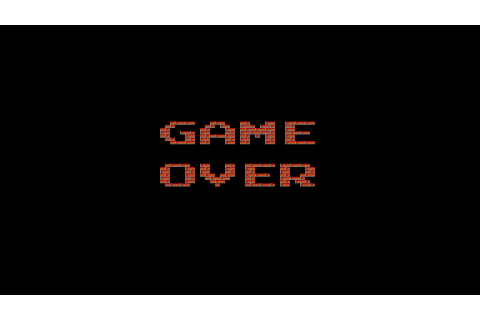 digital Art, GAME OVER, Minimalism, Text, Video Games ...