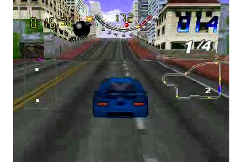 san-francisco-rush-extreme-racing (PSX) game over - YouTube