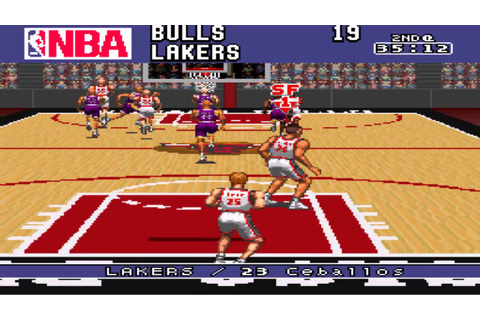 (SNES) NBA Give N' Go [HD] - YouTube