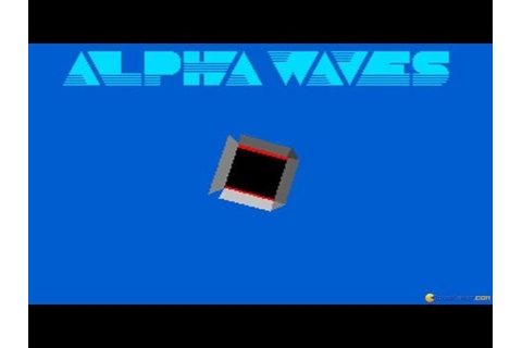 Alpha Waves - 1990 PC Game, gameplay - YouTube