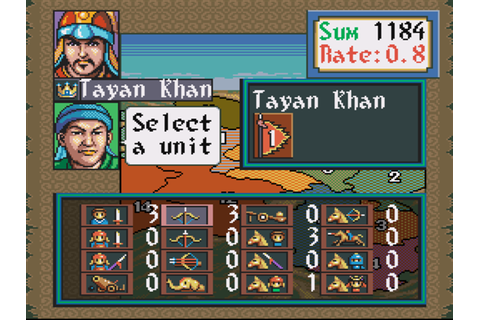 Genghis Khan II: Clan of the Gray Wolf Download Game ...
