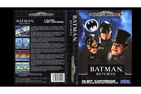 Batman Returns Full Playthrough (Sega Genesis/Mega Drive ...