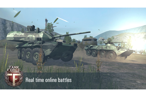 Tank Force: War Modern Battle Tanks Free Online Game ...