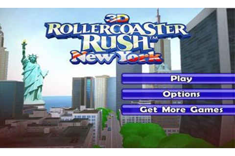 3D Rollercoaster Rush. New York Android apk game. 3D ...