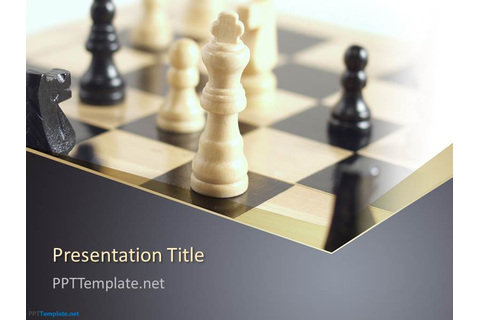 Free Chess PPT Template