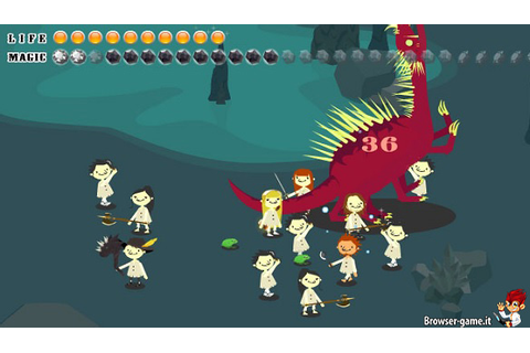 Puppet Guardian: browser game RPG stile cartoon