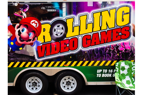 Rolling Video Games | A rolling concession at Three Rivers ...