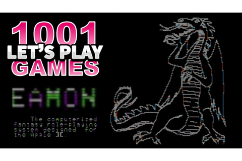 Eamon (Apple II) - Let's Play 1001 Games - Episode 106 ...