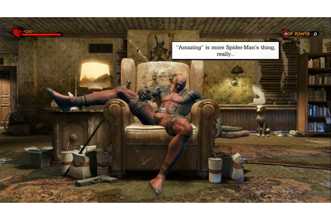 Deadpool: The Video Game - Home Sweet Home / Job One ...