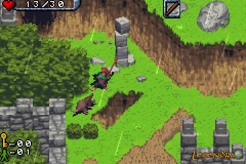 Bilbo: Le Hobbit Game Boy Advance Screenshots, capture d ...