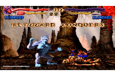 Primal Rage *All Fatalities/Finishers* (HD) - YouTube