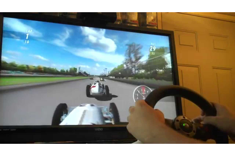 Indianapolis 500 Legends (Wii) with 270 Degree Wheel on ...
