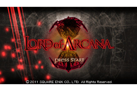 Download Lord of Arcana PSP ISO CSO | Jkt Anime Club
