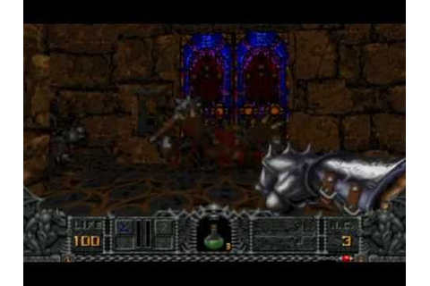 DOS Game: Hexen - Beyond Heretic - YouTube