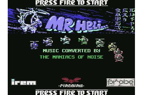 c64 music - Mr. Heli (title) - YouTube