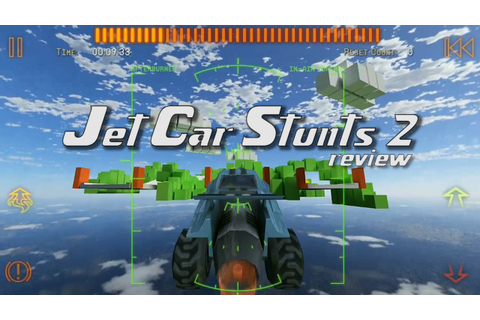 Jet Car Stunts 2 App Review - YouTube