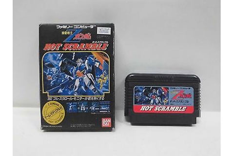 KIDOU SENSHI Z GUNDAM Hot scramble -- Famicom NES. Japan ...