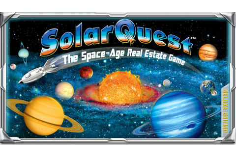 SolarQuest: The Space-Age Real Estate Game, Deluxe Edition ...