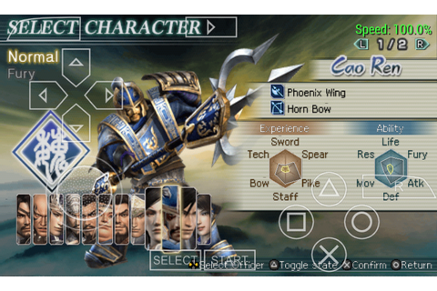 Download Game Psp Dynasty Warriors Strikeforce – BaseDroid