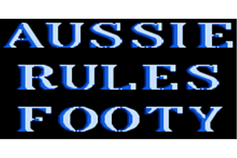Aussie Rules Footy Game Download | GameFabrique