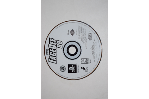 NHL FaceOff 98 Playstation PS1 Video Game Disc Only ...