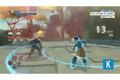 The Legend of Korra: Video-Game Gameplay & First Look ...