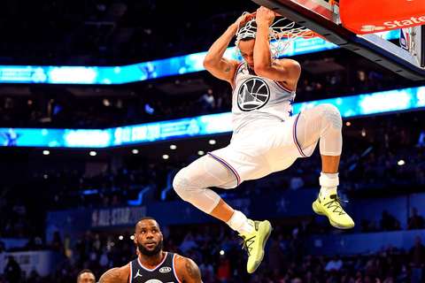 Stephen Curry's All-Star Game-ending dunk shocked everyone ...