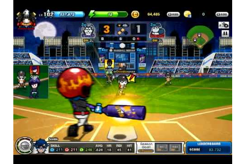 Baseball Heroes nivel 103 KINGWOLF!! - YouTube