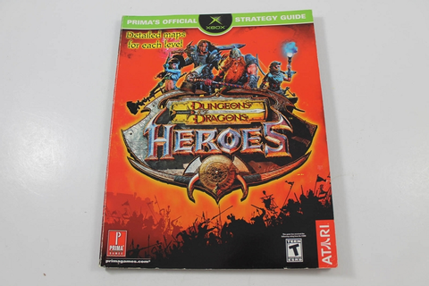 Dungeons and Dragons: Heroes Official Strategy Guide ...