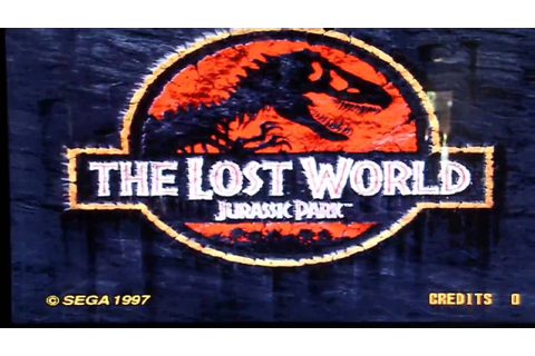 Jurassic Park II :The Lost World SEGA Arcade Game.avi ...