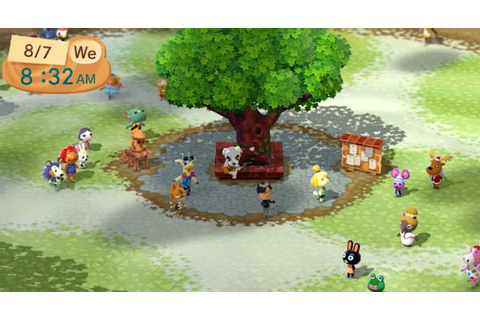 Animal Crossing Plaza launches on Wii U