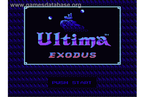 Ultima III: Exodus - Nintendo NES - Games Database