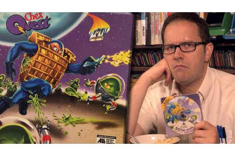 Chex Quest (PC) - Angry Video Game Nerd (AVGN) - YouTube