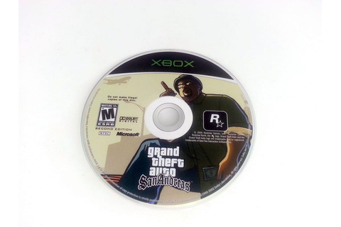Grand Theft Auto San Andreas game for Xbox (Loose) | The ...